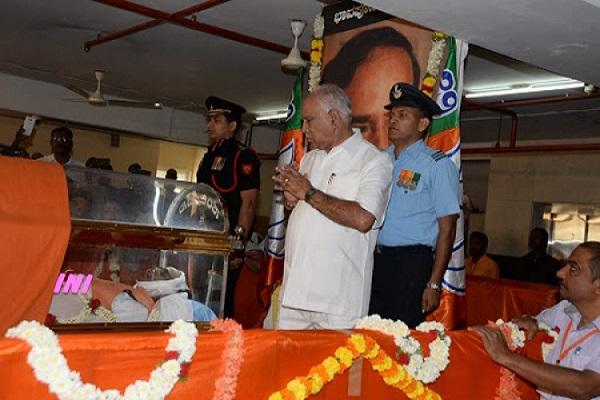 Anant Kumar funeral